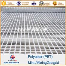 Geogrid d'extraction minière de polypropylène