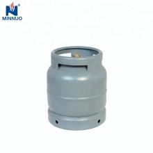 Gasflasche mit 3 kg Mini-Gasflasche, Propantank, Gasflasche