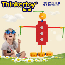 Lustige menschliche Form Modell Bildung Spielzeug Gehirn Block Spielzeug