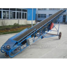 Mobile Belt Conveyor for Sand and Stone