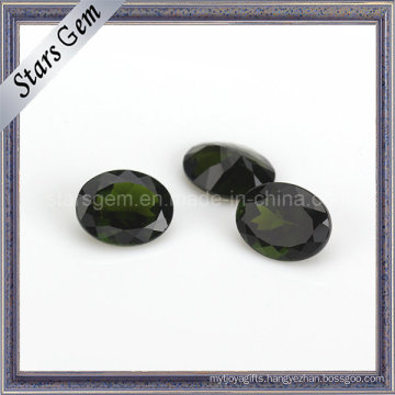 Factory Price Natural Cut Oval Shape Natural Diopside