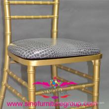 Almofada padrão PU para cadeira chiavari, best-seller