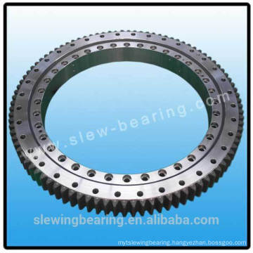 Slewing bearing for truck crane
