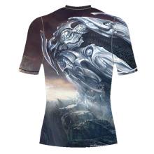 Venta caliente de moda sublimada camiseta