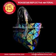 Светоотражающий радуга цвета женщины сумка