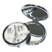 Customized Cosmetic High Quality Makeup Compact Pocket Mirror