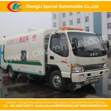 Caminhão de tanque do líquido de limpeza de 4X2 JAC Vacuumsewage / caminhão da eliminação de resíduos