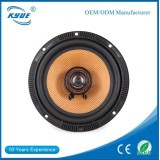 80w 2 way 6.5 inch audio speaker portable for car with iron speaker grill
