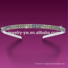 Bandeaux en cristal de haute qualité de couleur 2015 pour femmes