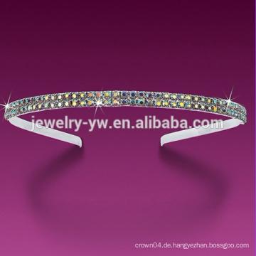 2015 mehrfarbige Qualitätskristallstirnbänder für Frauen