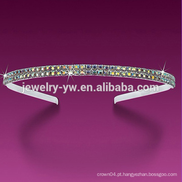 2015 multi cor headbands de alta qualidade de cristal para as mulheres