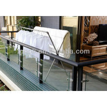 wholesale China stainless steel folding double poles X type clothes drying rack