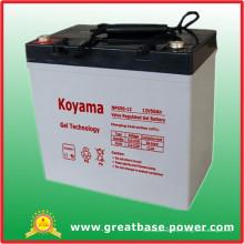 Batterie de stockage de gel de 50ah 12V