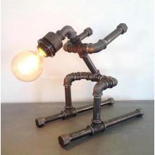Lâmpada de ferro fundido lâmpada de ferro fundido lâmpada principal do quarto