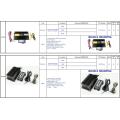 Aux Hi-Lo Wail Yelp Traffic Alarm Buzzer 12V 24V 200W 300W 9 Tone Remote Control Wireless Siren 400W