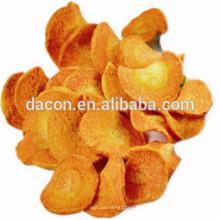 Cenoura frita a vácuo