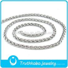 316 cadenas de cuello al por mayor de acero inoxidable diferentes tipos de cadenas de collar de joyería