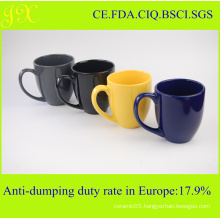 FDA Colored Ceramic Mug in Various Colors