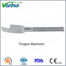 Wanhur Laryngscopy Instruments Acier inoxydable Tougue Depressor