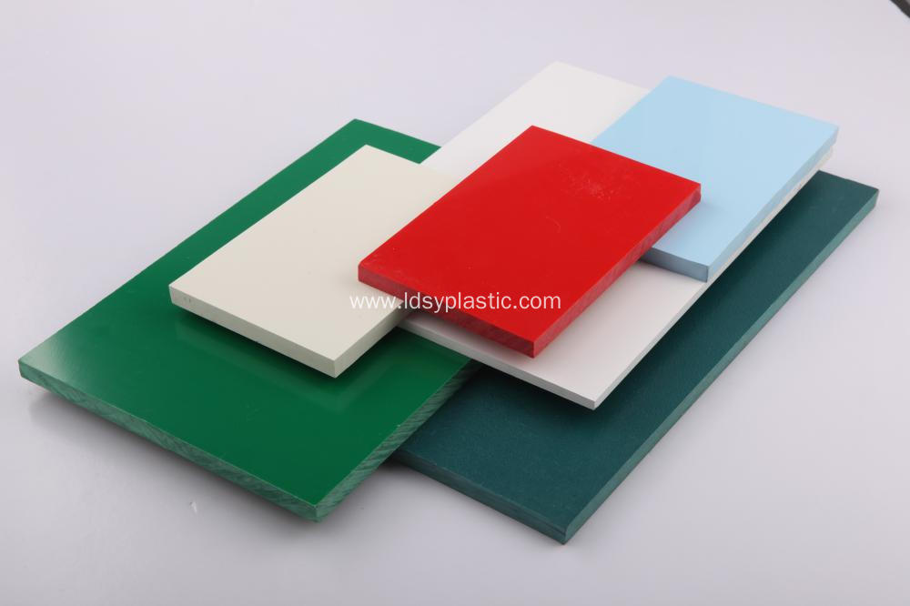 China Colorful and Rigid PVC Rigid Sheet Manufacturers