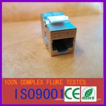 Metal rj45 cat6a apantallado FTP ftp jack