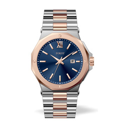 New Foksy Stainless steel Couple Watch 2018