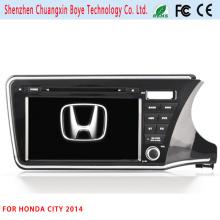 GPS Navigator GPS Tracking Reproductor de DVD de coches para Honda City 2014