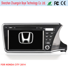 GPS Navigator GPS Tracking DVD Car MP3 Player for Honda City 2014