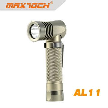 Linterna de ángulo LED CREE LED de tamaño Maximo AL11 320LM XP-E R5