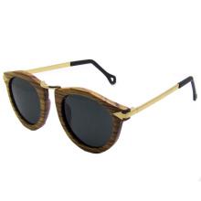 Óculos de sol de madeira da forma (sz5685-2)
