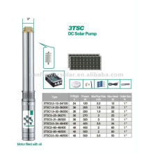 Fully Submersible 4inch-100mm diameter Helical Rotor Solar Pump