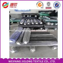 Coton vêtement teint Spandex Tissu stock en weifang coton polyester spandex tissu coton spandex tissé