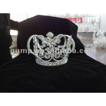 Hombre corona completa cristal
