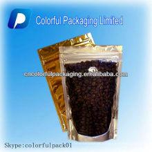 O café da válvula levanta-se malotes / sacos de empacotamento do chá do café do papel de embalagem com impressão