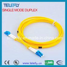 Cable de conexión de fibra de un solo modo dúplex LC