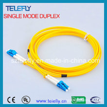 LC Duplex Single Mode Fiber Patch Cord