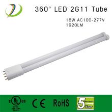 18W 2G11 Led Lamp com lista UL