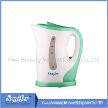 Plastic Kettle Sf-538 (green) 1.8L Electric Water Kettle