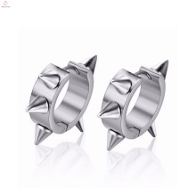 Latest model fashion cheap made in china stainless steel earrings