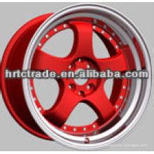 17-дюймовые 5-колесные диски красной реплики для продажи