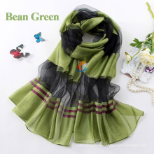 2015 Big Size 170cm*80cm Women Bohemia national trend autumn and winter scarf women silk&cotton scarf fashion scarf