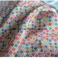 Tissu en mousseline de soie imprimé par Ployester de qualité superbe pour le vêtement