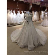Echte Hochzeiten Foto Details Braut Heirat Hubby Brautkleid