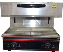 Cozinha equipamentos inox salamandra elétrica Grill