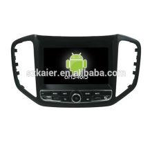 Núcleo Octa! Dvd do carro do android 8.0 para o tiggo 5 da cereja com tela capacitiva de 8 polegadas / gps / ligação do espelho / DVR / TPMS / OBD2 / WIFI / 4G