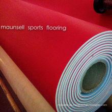 Ittf Certificado de alta calidad de interior de PVC PVC Deportes Rollo piso / estera para tenis de mesa 4.5mm de espesor