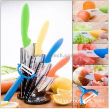 fruit peeler , household utensils,3456/354/345inch  ceramic knife set  for tableware