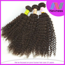 Natural color remy afro african kinky human hair