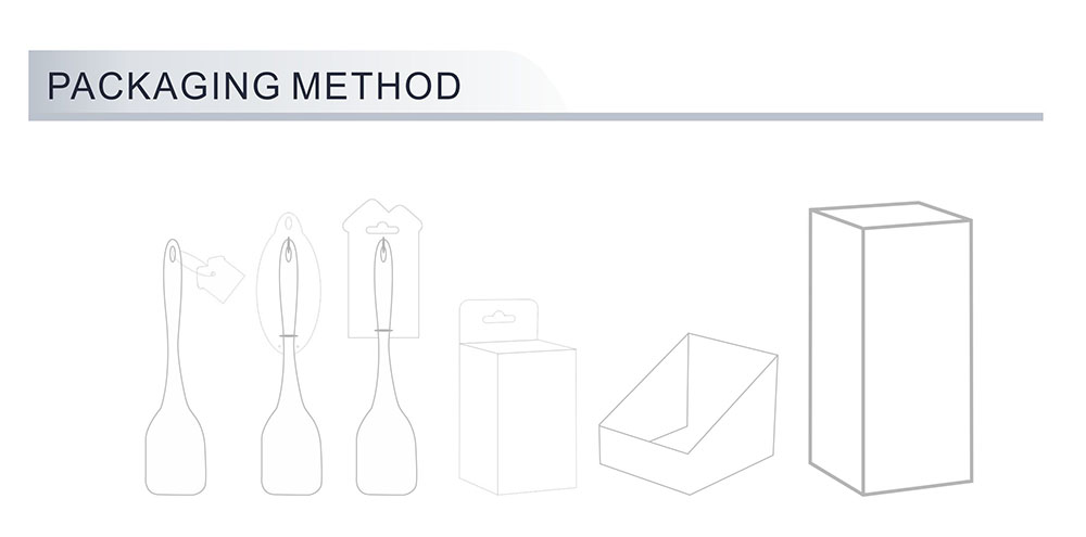 mixing serving spoon Packaging Method