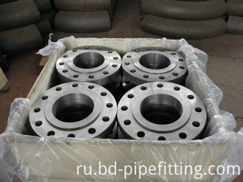 ANSI Stainless Steel Forged Plate Flange